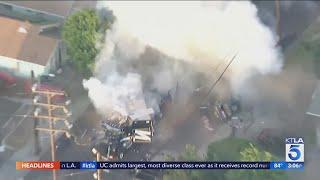 South L.A. fireworks explosion likely caused by miscalculations from bomb technicians, LAPD chief sa