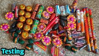2020 New Crackers Testing || Firecrackers Testing || Indian popular Crackers || New Crackers