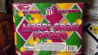 Fireworks Demo (500 Gram Cake) - Mardi Gras Parade (AFW)