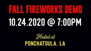 Winco Fireworks 2020 Fall Blast Off