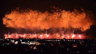 長岡花火 フェニックス 2019 8月3日 Nagaoka Fireworks 2019 Phoenix Fireworks.Japan Niigata pref.