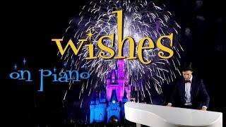 WISHES On Piano - Magic Kingdom Fireworks | Walt Disney World