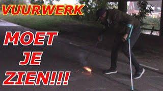 VUURWERK FIREWORKS  MOET JE ZIEN!!! GEKKIGGEIT