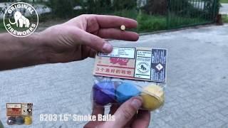 "8203 ORIGINAL FIREWORKS 1.6"" SMOKE BALLS"