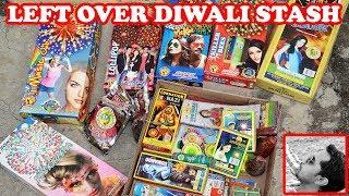 Diwali Stash Leftover's from Last Year  - Diwali 2019 Fireworks