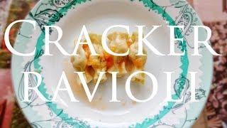 Моя Кухня #НОВОГОДНИЕ РЕЦЕПТЫ/РАВИОЛИ ХЛОПУШКИ-CRACKER RAVIOLI