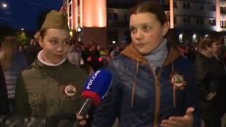 Жители Советска зажгли лампады в память о погибших в Великой Отечественной войне