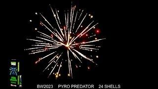 BoomWow! Fireworks: Pyro Predator Canister Shells DEMO