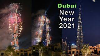 Amazing Dubai Fireworks New Year 2021 ★  One of the greatest celebration ever! Burj Khalifa