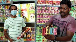 Spnka Fireworks Sivakasi Shop Tour & Review Crackers Review Tamil CRT