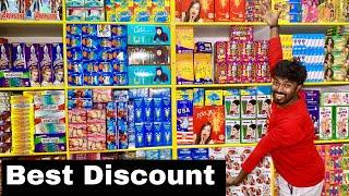 Sivakasi Cheapest Crackers Shop -  Discount on All Fancy + Sky-shots - Svr Fireworks