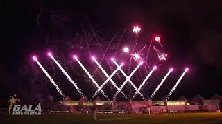 RAF Brize Norton 2019 - Pyro Musical Display by Gala Fireworks