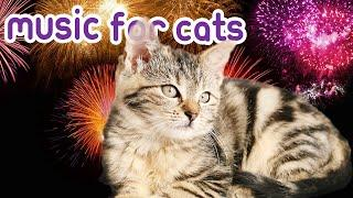 Music For Cats to Help with Fireworks, loud noises, Bonfire Night - Soothing Pet Therapy
