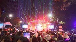 Лазеры вместо фейерверков на Новый год