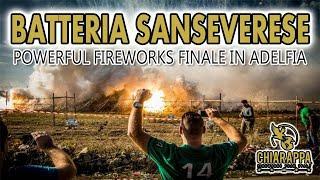 Adelfia 2014 San Trifone Batteria Sanseverese Giuseppe Chiarappa  POWERFUL FIREWORKS FINALE