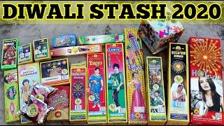 DIWALI CRACKERS STASH 2020 - 19 Different Types of Fireworks - Wholesale Price - Rs.3000