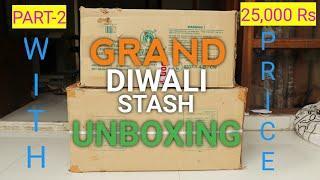 GRAND DIWALI FIREWORKS STASH 2020 PART-2||DIWALI KE PATAKE||DIWALI CRACKERS 2020||CRACKERS STASH