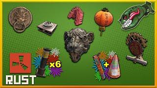 Rust Skins | Lunar New Year 2020, Fireworks, Gong, Rat Mask, New Igniter Item #152 (Skin Preview)