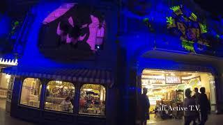 Disney's halloween fireworks show 2018