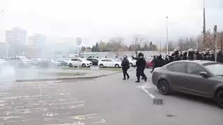 Взрыв в Минске у Макдональдса в Зеленом луге.