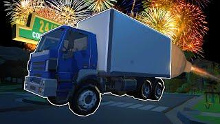 Turning a Box Truck Into a NUCLEAR MISSILE! - Fireworks Mania Gameplay