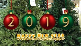 Новогодняя СКАЗКА в Эпицентре 2019 //Обзор новогодних украшений Шары Хлопушки Мишура Часть1