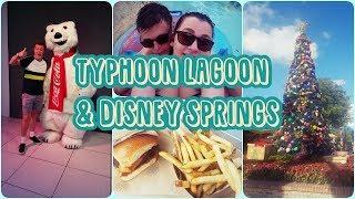 FLORIDA 2018: DAY 15 - TYPHOON LAGOON, CHRISTMAS AT DISNEY SPRINGS & FIREWORKS IN MAGIC KINGDOM!