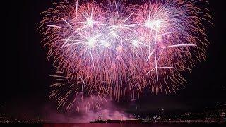 Seattle's 4th of July fireworks over Lake Union - 2019