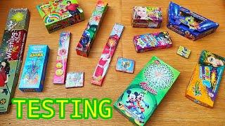 Different Types of Crackers Testing | Testing New And Unique Firecrackers | Fireworks Testing | 2020