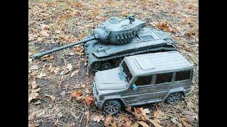Гелик гори ясно и танк Pershing конкретно переборщил с петардой