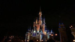 LIVE! Disney Magic Kingdom Fireworks!