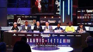 FIREWORKS! Daniel Dubois vs Ebenezer Tetteh full & final press conference