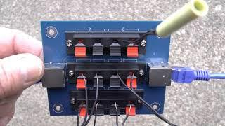 Breakout Boards for Fireworks Firing systems using CAT 5 Cable