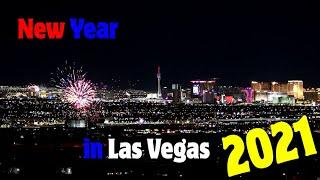 New Year's Eve 2021 Fireworks in Las Vegas