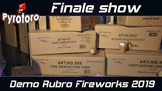 Finale show Demo Rubro Fireworks 2019