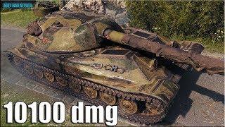 10к урона Объект 705А ✅ World of Tanks лучший бой патч 1.5.1
