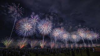 [ 4K] 長岡花火大会 2019 復興祈願花火 フェニックス - Nagaoka Fireworks Festival 2019 Phoenix - 2019.08.02