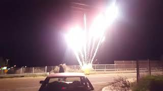 Supercharged 21 shot 500 gram cake alien fireworks 4k quality