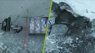 Взрываем разные петарды подо льдом| Тест петард| Моя пиротехника