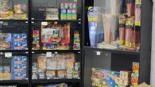 Latifs Fireworks 2020 - In-store footage - More new items