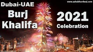 Dubai's 2021 New Year fireworks Display || New Year's 2021 Dubai puts on dazzling fireworks show
