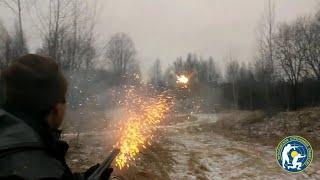 "Новогодний салют из обреза МР-43КН!!New year's salute from MP-43KN""BAIKAL"""