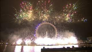 New Year's Eve 2019 London Fireworks