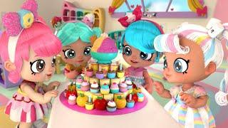 Кинди Кидс - Весёлый Пир - 2 серия - Веселый мультфильм для девочек