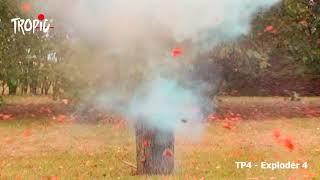 TP4 - Exploder 4 (SUPER STRONG) - TROPIC Fireworks, Fajerwerki, Feuerwerk, Vuurwerk, Feu d'artifice