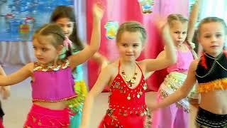 Восточный танец. Детский сад. Утренник Новый год!