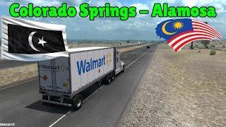 American Truck Simulator Colorado Springs To Alamosa Transport Fireworks Gameplay