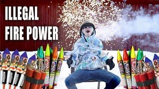 Buying Illegal Fireworks And Trying To Fly..