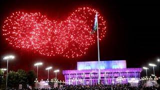 Салют в честь 9 мая в Ташкенте (2019)