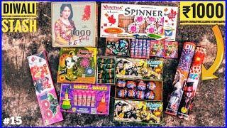 Diwali Budget Fireworks Stash Worth Rs.1000 Part 4 • Cheapest Diwali Firecracker Stash Worth Rs.1000